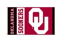 Oklahoma Sooners 3'x5' Flag