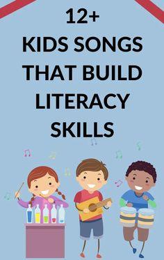 12+ Favorite Songs to Build Literacy Skills
