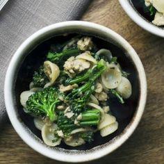 Orecchiette with Sausage and Broccolini