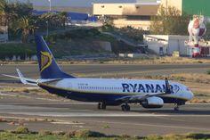 Canary Islands Spotting....Spotter: Ryanair EI-EKR Boeing 737 LPA/GC Spotting