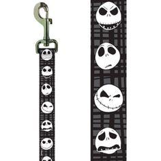 Platinum Pets Disney Jack Skeleton Nylon Leash - PetSmart ##PetLoveSweeps