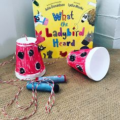 ✨TMC BOOK CLUB✨ In Julia Donaldson's 'What the Ladybird Heard' the ladybird listens and whispers so we thought a string… Play School Activities, Eyfs Activities, Nursery Activities, Book Activities, Farm Crafts, Book Crafts, What The Ladybird Heard Activities, Minibeasts Eyfs, Julia Donaldson Books