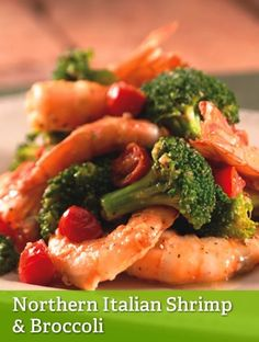 Northern Italian Shrimp and Broccoli {leanest}  http://www.youfit.tsfl.com  http://www.facebook.com/healthconfessions.com