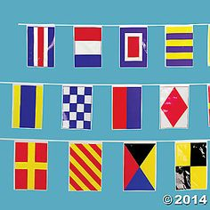 Nautical Line-Of-Flags