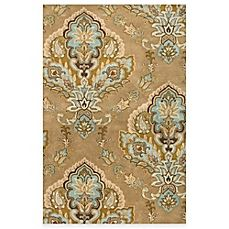image of Rizzy Home Volare Jasmine 2-Foot 6-Inch x 7-Foot 6-Inch Latte Wool Rug