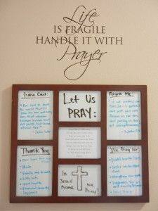 6 Prayer Board Ideas