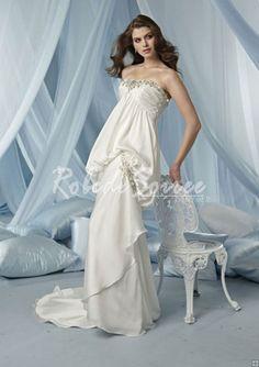 Robe de Mariée 2014-Mermaid robe de mariée queue