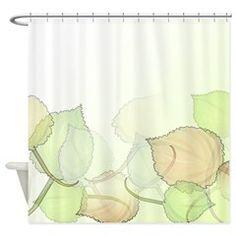 Leaves Medium Shower Curtain