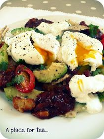 A Place for Tea: An English Gal's Mexican Eggs...