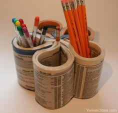 Kalemlik Yapımı Çocuklarınız ve kendiniz için eğlenceli kalem kutuları yapabilirsiniz. Çocuklarınızla beraber yapabileceğiniz, onların el beceresinin gelişmesine yardımcı olabilecek güzel bir uğraş. Kartondan Şirin Kalemlik  İhtiyacımız olan malzemeler, kalın karton yada havlu kağıt ruloları da olur, istediğini http://www.yemekodasi.com/kalemlik-yapimi/  #KalemKutusu, #KalemKutusuYapımı, #Kalemlik, #KalemlikNasılYapılır
