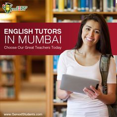 If English is not your mother tongue, you might have problems excelling in your other exam papers. This is, particularly, if your exams are written only in English. We would love to assist you write better in the English Language via our top #English #tutors in Mumbai. If you want to excel, choose our great teachers today. http://www.genextstudents.com/Tutors/