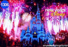 New Years at Disney