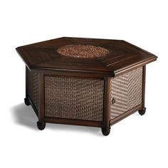 St. Martin Woven Fire Table Four Seasons Room, Fire Table, Fire Glass, Luxury Home Decor, Outdoor Fabric, Outdoor Furniture, Outdoor Decor, Kitchen And Bath, Seat Cushions