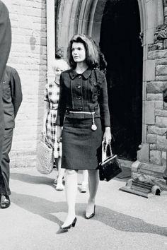 1967 Jacqueline Kennedy in Chanel http://georgiapapadon.com/