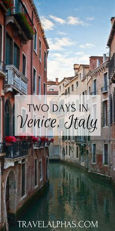 Days in Venice, Italy: A Perfect Itinerary Here is the perfect Venice guide on where to eat, where to stay, and what to do in Venice! Two Days in Venice, Italy: A Perfect Itinerary - Travel Alphas - European Vacation, Italy Vacation, European Travel, Italy Trip, Italy Tours, Italy Honeymoon, Jamaica Vacation, Vacation Packing, Vacation Style