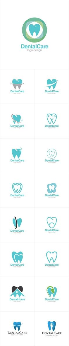 Dental Logo Design Inspiration - Dental Care