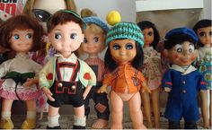 vintage toys perfecta dolls sophistacates i spoted in this :)