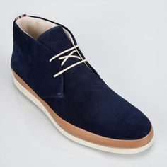 Paul Smith Shoes   Navy Loomis Boots