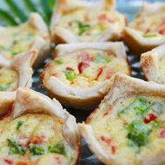 Quiche Bites | Host a Brunch Baby Shower | BabyZone