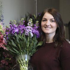 Rosy Elesmore – Florist at McQueens Flowers, London