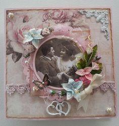 monicas paper hobby: Bride and congratulated