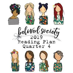 Beloved Society 2019 Scripture Reading Plan | Q4   | Bible Journaling Printable Ephemera by Illustrated Faith Bible In A Year, Devotional Journal, Scripture Reading, Bible Covers, Bible Art, Scripture Art, Faith Bible, Illustrated Faith, How To Plan