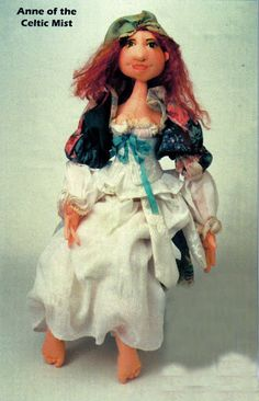 Free Art Doll Pattern Anne of the Celtic Mist cloth moldes - Tatyna-dolls - Picasa Web Albums