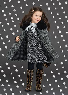 Folce and Dabbana winter 2016 child collection 19