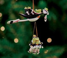Patience Brewster Krinkles 12 Lords A Leaping 12 Days Christmas Ornament