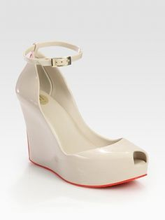 Melissa Patchuli Wedge Sandals