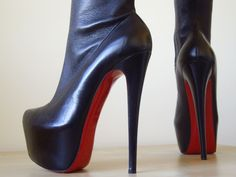71d4fb063fce where can i buy christian louboutin new monicarina stretch leather thigh  high boots heels 37 4