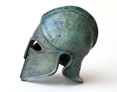 Excited to share the latest addition to my #etsy shop: Bronze Metal Helmet, Ancient Greek Corinthian Helmet, War Helmet, Bronze Metal Sculpture, Museum Art Replica, Greek Art Decor, Unique Gift #bronzemetalhelmet #ancientgreece #museumartreplica #greekart #warhelmet #ancientgreekhelmet #historicalhelmet #greeksculpture #artdecor Greek Helmet, Corinthian Helmet, Helmets For Sale, Classical Period, Greek History, Greek Jewelry, Greek Art, Ancient Greece, Victoria Frances