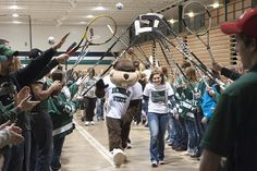 Fans of Bemidji State University athletics, alumni current student-athletes and members of the community came together April 20, 2012 at the John S. Glas Fieldhouse to show their support for women's athletics in BSU's Third Annual Sara Labraaten Walk for Women. Chck out the entire photo gallery at: http://www.bsubeavers.com/wbasketball/photos/273/