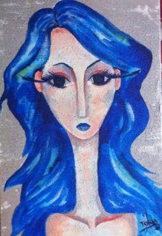 Auril -La doncella de hielo- Disney Characters, Fictional Characters, Aurora Sleeping Beauty, Disney Princess, Painting, Art, Ice, Impressionism, Art Background