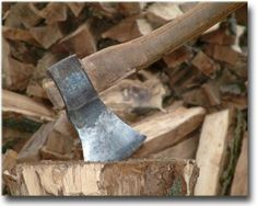 I USED TO CHOP : FIREWOOD FOR A LIVING AND JOB TOO ... I ENJOYED IT ... I WAS GOOD AT IT !!!