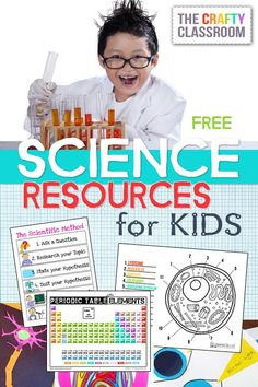 Free Science Resources, Printables, Crafts & Activities for Kids