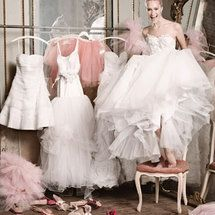 Ballet-Inspired Bridal Fashion from Martha Stewart Weddings Spring 2010 Edition Bridal Gowns, Wedding Gowns, Wedding Bells, Wedding Events, Ballet Wedding, Wedding Shoes, Martha Stewart Weddings, Yes To The Dress, Wedding Dress Shopping
