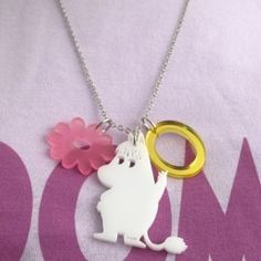 Moomin Necklace: Snorkmaiden