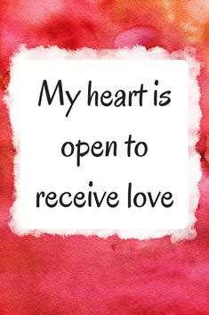 Finding love using affirmations & the Law of Attraction.