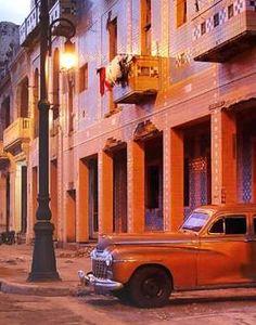 Coches antiguos en Cuba