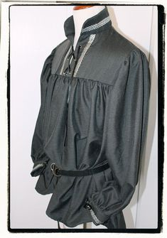 Dark Rogue Mens Tudor Renaissance Medieval by RecycledRockstah, $55.00