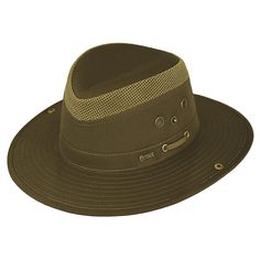 Outback Trading Co Mariner Mens Hat Olive Cotton Blend UPF 50 Waterproof 034517898826
