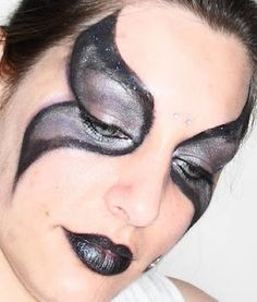 Dark Faerie makeup