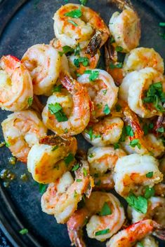 30 Air Fryer Recipes Dinner At The Zoo. Air Fryer Fried Shrimp Recipe, Fried Shrimp Recipes, Seafood Recipes, Gourmet Recipes, Cooking Recipes, Healthy Recipes, Low Carb High Protein, Protein Dinner, Garlic Parmesan Shrimp