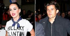 Orlando Bloom was spotted outside Radio City Music Hall in NYC on Wednesday, March 2, in support of his rumored girlfriend Katy Perry, a headliner at that night's Hillary Clinton fundraiser — read more