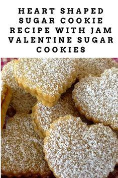 Heart Shaped Sugar Cookie Recipe: Valentine Sugar Cookies with Jam www.womencommunityonline.com