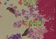 Kokka Fabrics Echino Pink Wish