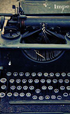 Old typewriters : )