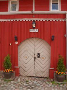 Naantali, Finland-love the color