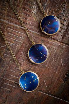Constellation Locket Necklace